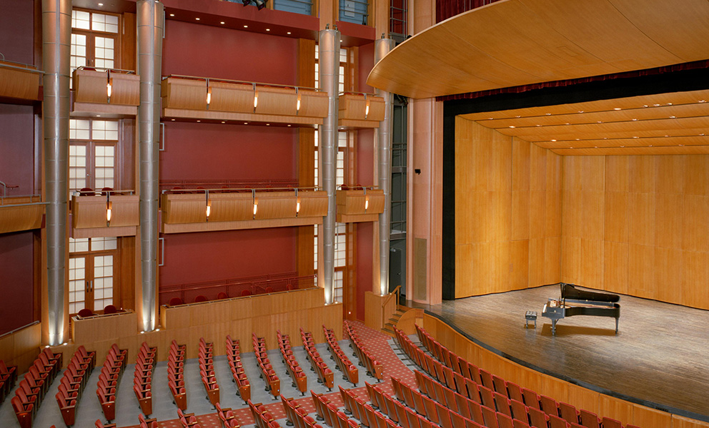 University of Missouri, St. Louis - Touhill Performing Arts Center