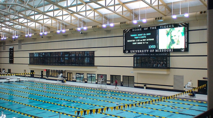 University of Missouri – Columbia, Brewer Fieldhouse and Natatorium